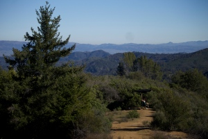 South county from the Santa Cruz Mountains